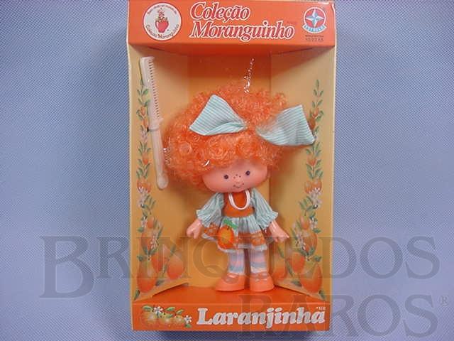 Brinquedo antigo Laranjinha Coleção Moranguinho Completa Caixa Lacrada Década de 1980