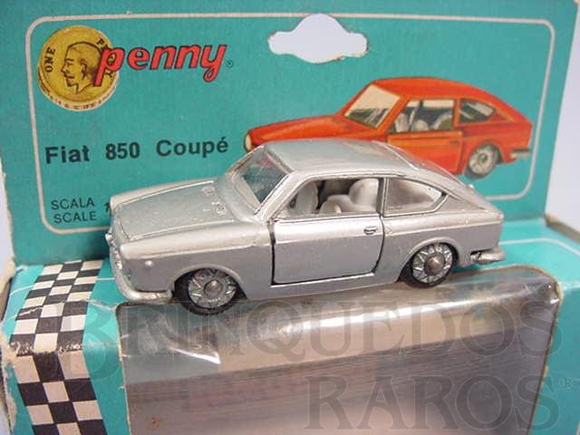 Brinquedo antigo Fiat 850 Coupé Penny Politoys Década de 1960