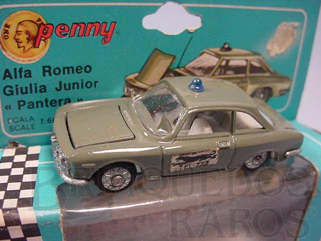 Brinquedo antigo Alfa Romeo Giulia Junior Pantera Penny Politoys Década de 1960