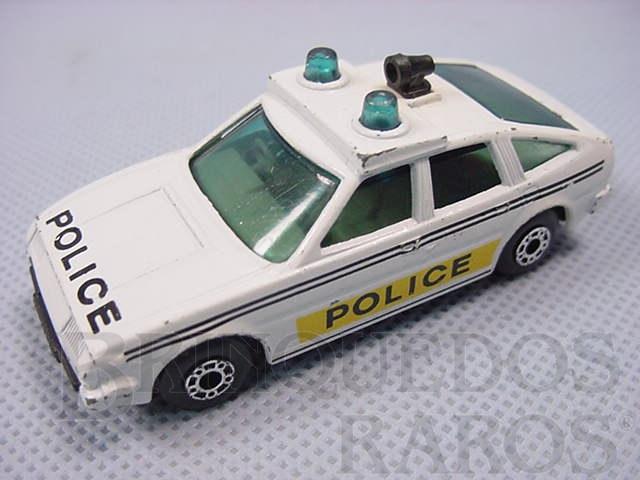 Brinquedo antigo Rover 3500 Police Superfast