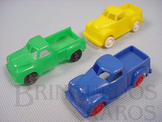 Brinquedo antigo Caminhonete com 7,00 cm de comprimento Década de 1960 Preço por unidade