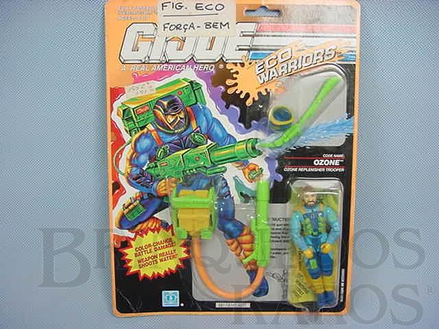 Brinquedo antigo Eco Warriors, Ozone, completo, lacrado. Ano 1990