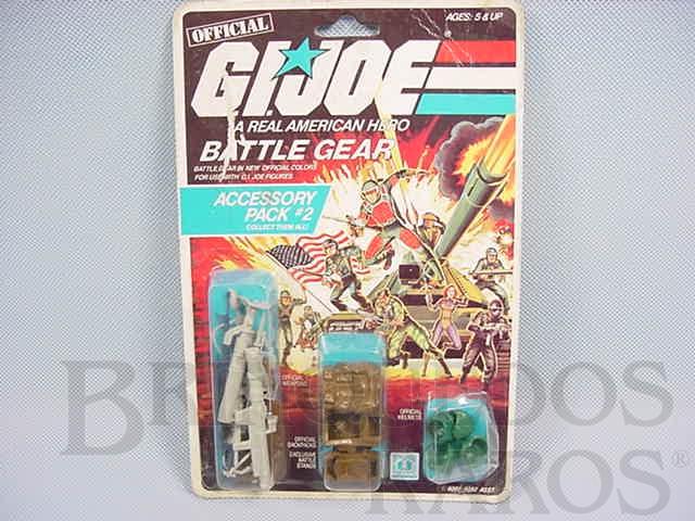 Brinquedo antigo Accessory Pack number 2 Battle Gear completo lacrado Ano 1984