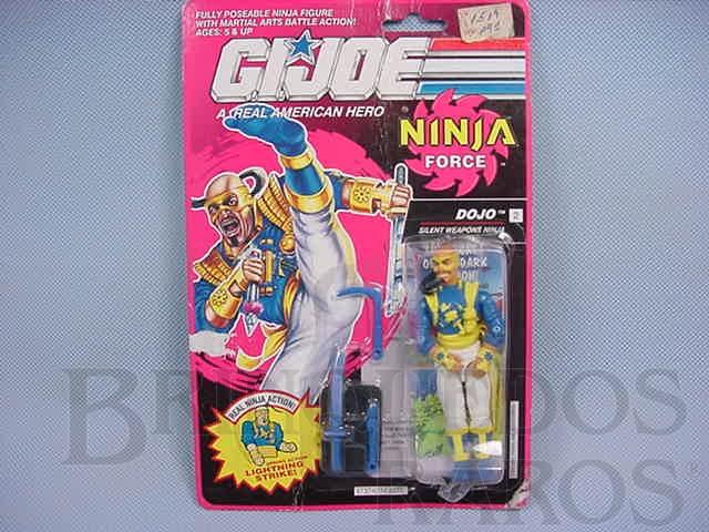 Brinquedo antigo Ninja Force Dojo completo lacrado Ano 1991