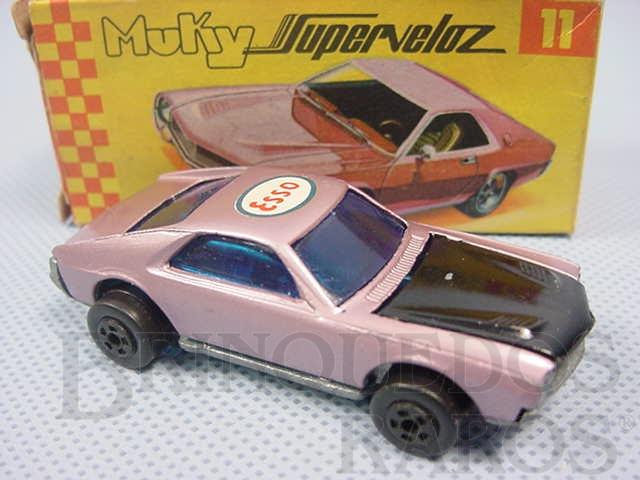 Brinquedo antigo Chevelle SS Muky Superveloz Década de 1970