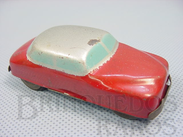 Brinquedo antigo Carro Sedan com 8,00 cm de comprimento Década de 1950