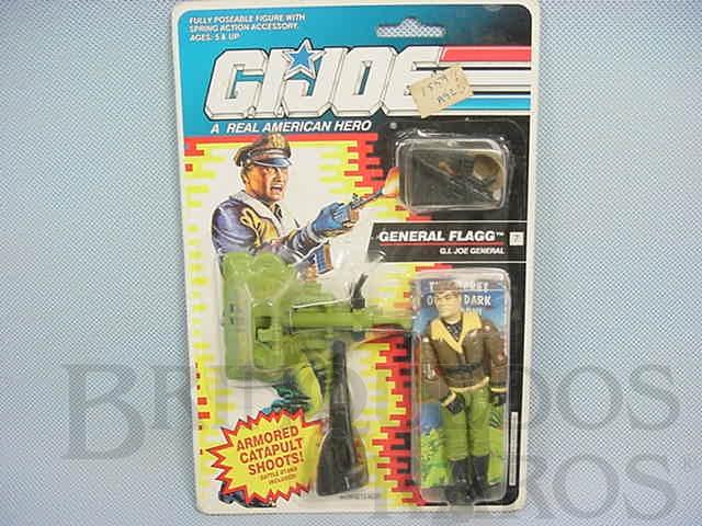 Brinquedo antigo General Flagg, completo, lacrado. Ano 1991