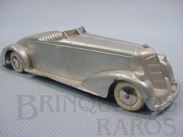 Brinquedo antigo Carro Conversível com 12,00 cm de comprimento Série Jumbos Década de 1930