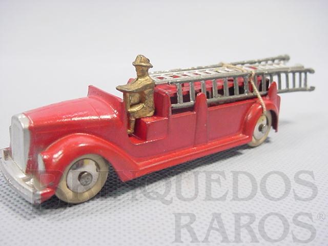 Brinquedo antigo Caminhão de Bombeiros com 14,00 cm de comprimento Série Jumbos Década de 1930