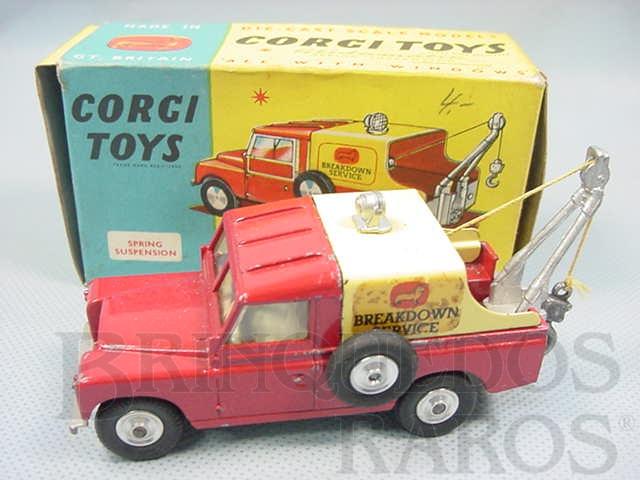 Brinquedo antigo Land Rover Breakdown Truck Ano 1962