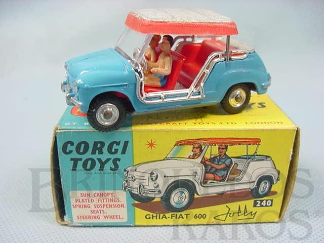 Brinquedo antigo Ghia Fiat 600 Jolly Ano 1964