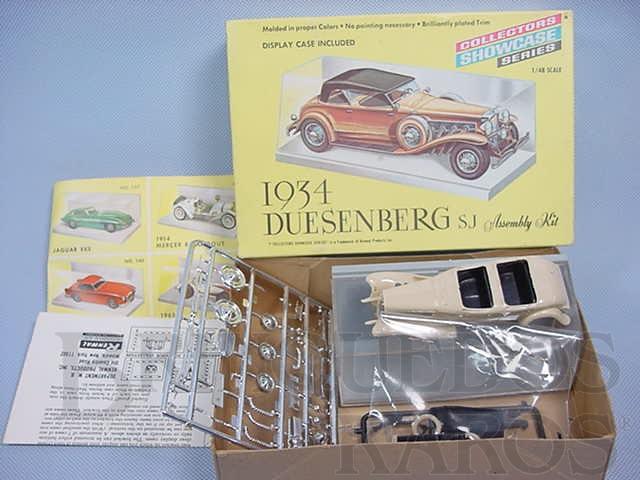 Brinquedo antigo Duesenberg SJ 1934 Década de 1970