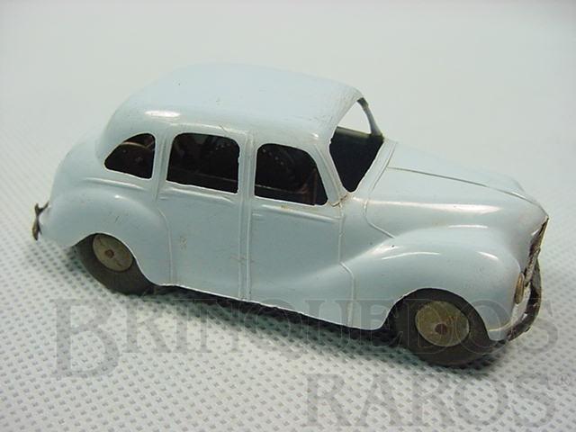 Brinquedo antigo Austin Sheeline azul com 9,00 cm de comprimento Minic Década de 1950