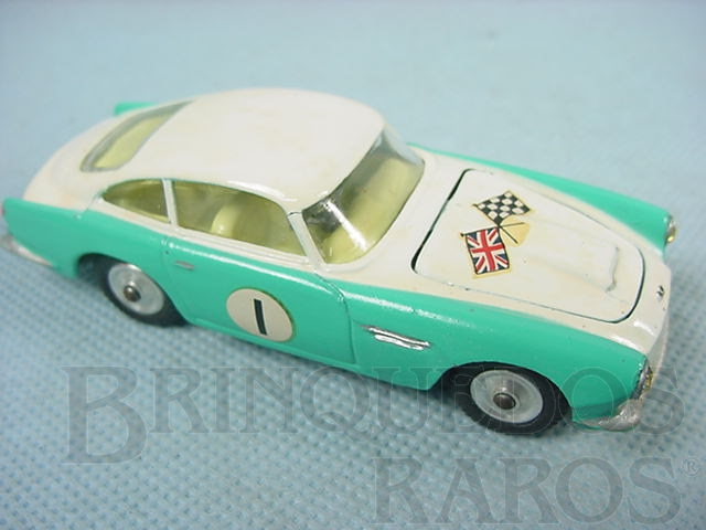 Brinquedo antigo Aston Martin DB4 Competition Version Ano 1964