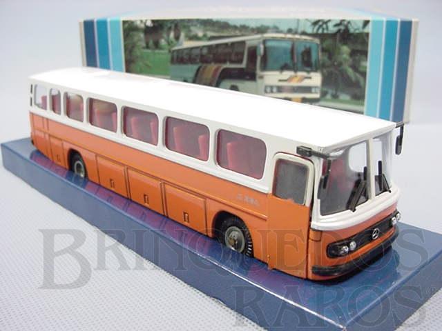 Brinquedo antigo Onibus Mercedes Benz 0364 Monobloco Rodoviário Década de 1980