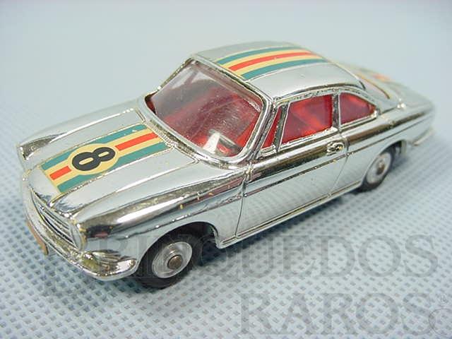 Brinquedo antigo Simca 1000 Competitiom Model Cromado Ano 1965