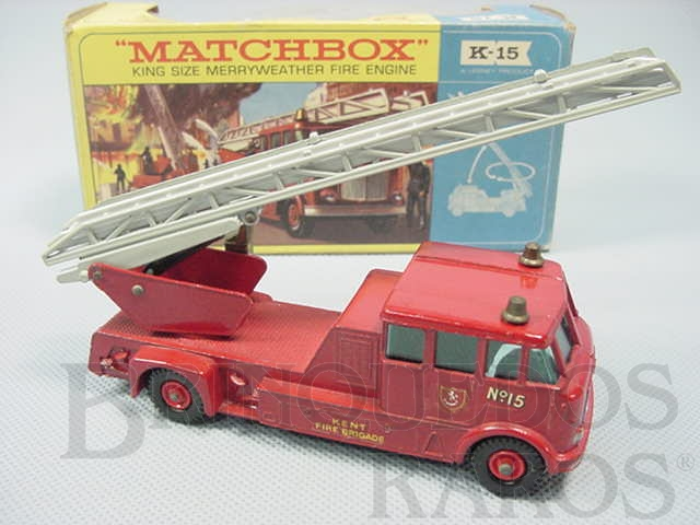 Brinquedo antigo Merryweather Fire Engine King Size