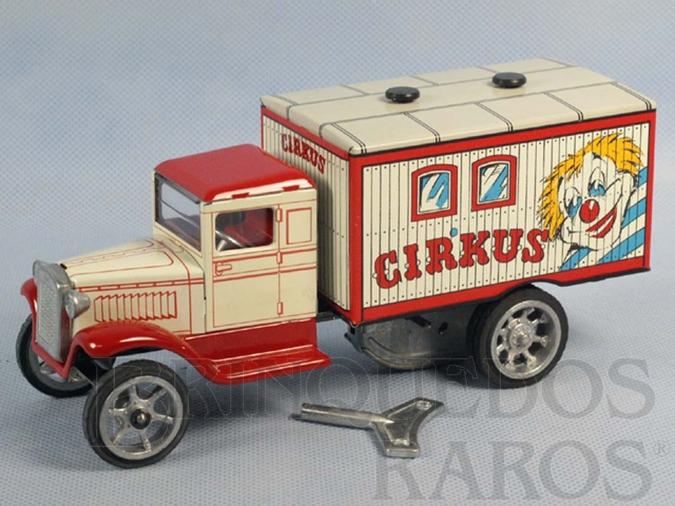 Brinquedo antigo Caminhão Cirkus com 20,00 cm de Comprimento