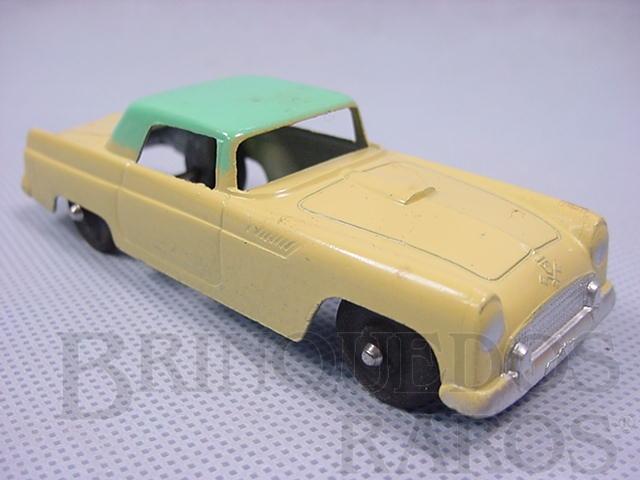 Brinquedo antigo Ford Thunderbird com 11,00 cm de comprimento Década de 1950