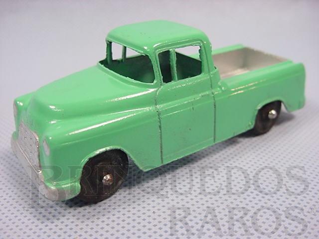 Brinquedo antigo Chevrolet Cameo Carrier com 10,00 cm de comprimento Década de 1950
