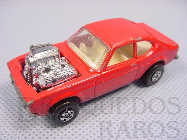Brinquedo antigo Hot Rocker Rola-Matics vermelho Brazilian Matchbox Inbrima 1970