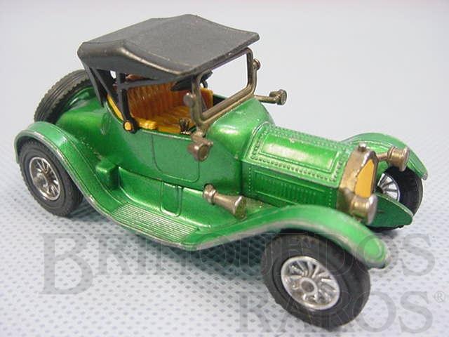 Brinquedo antigo 1913 Cadillac Yesteryear verde metálico