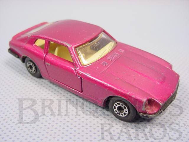 Brinquedo antigo Datsun 260Z 2+2 Superfast vermelho metálico