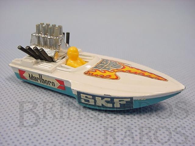 Brinquedo antigo Seafire Superfast Brazilian Matchbox Inbrima 1970