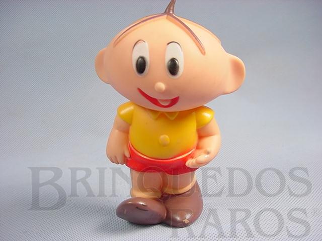 Brinquedo antigo Cebolinha com 14,00 cm de altura Maurício de Sousa Década de 1980