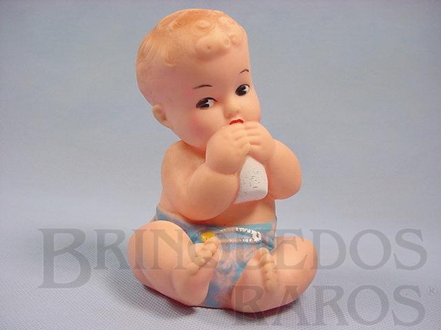 Brinquedo antigo Boneco Gulozinho 17,00 cm de altura com apito Ano 1964