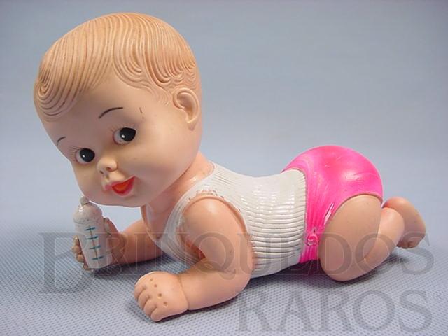 Brinquedo antigo Boneco Caçula 16,00 cm de comprimento Ano 1968