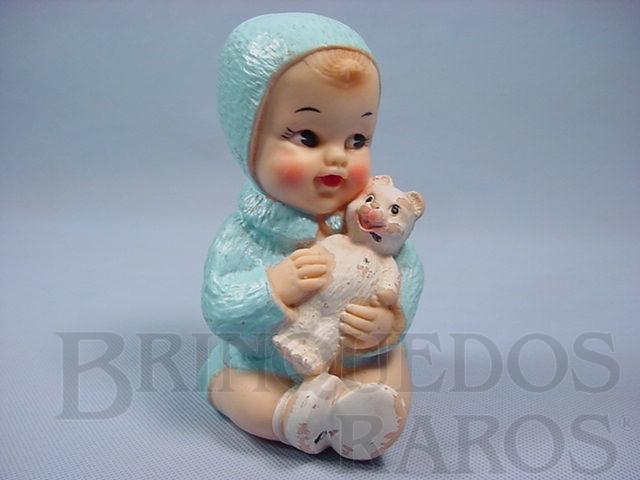 Brinquedo antigo Boneca Carinhosa 15,00 cm de altura com apito Ano 1964