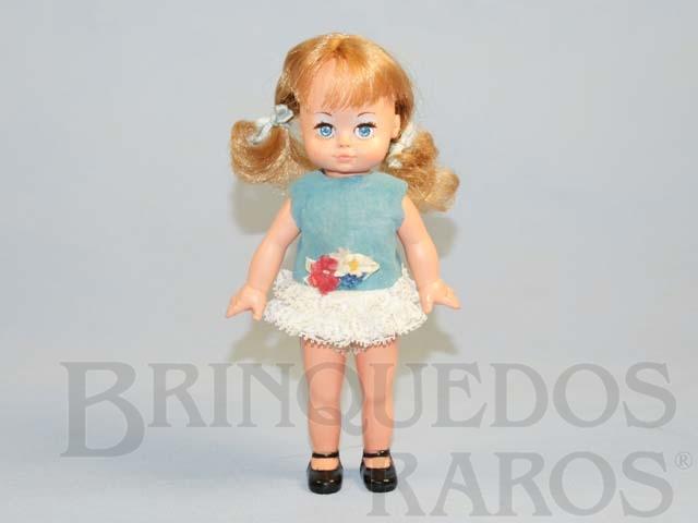 Brinquedo antigo Boneca Dancinha com 20,00 cm de altura Ano 1973