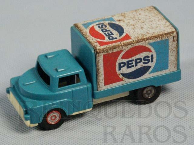 Brinquedo antigo Expressinho Glasslite Pepsi Cola Década de 1980