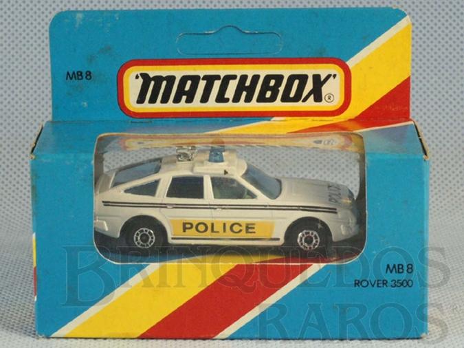 Brinquedo antigo Rover 3500 Police Superfast Caixa Lacrada