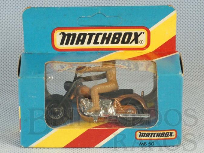 Brinquedo antigo Harley Davidson Superfast Caixa Lacrada