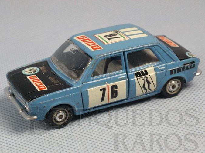 Brinquedo antigo Fiat 128 versão Rally Década de 1970