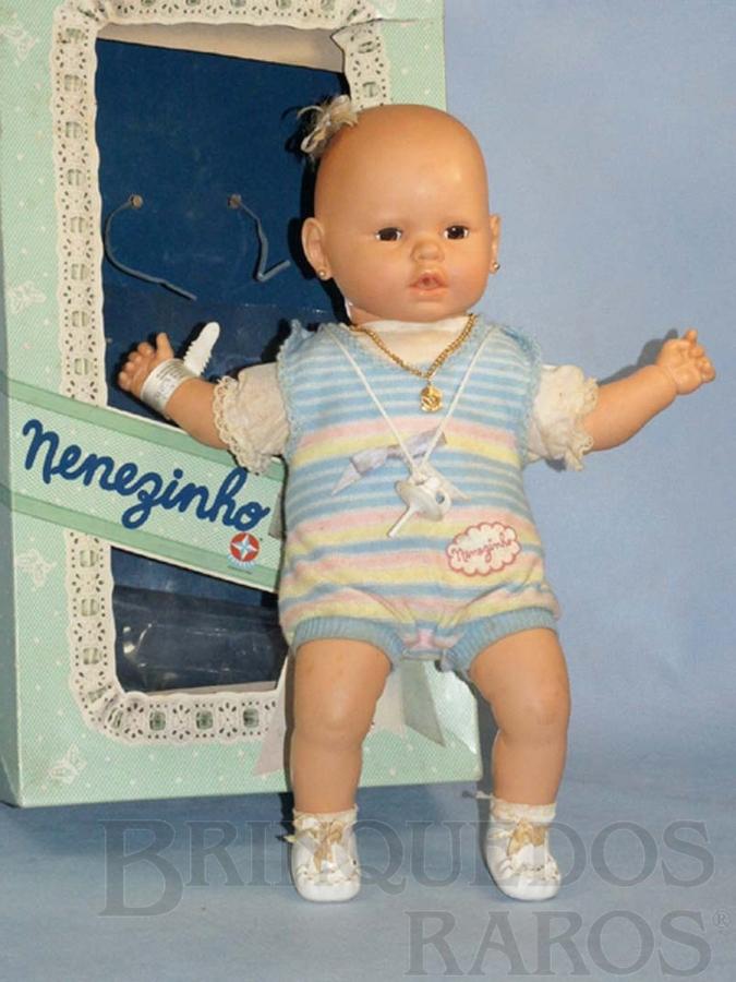 Brinquedo antigo Bebê com 44,00 cm de altura Nenezinho completo Ano 1986