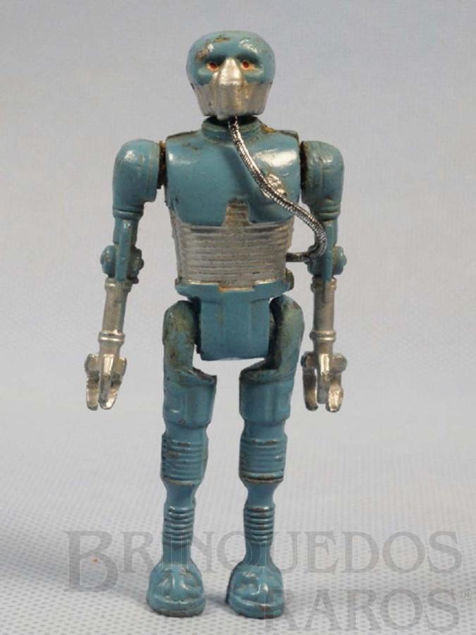 Brinquedo antigo Robot 2-1B1 com 10,00 cm de altura Série Novas Aventuras nas Galáxias Guerra nas Estrelas Star Wars Ano 1983