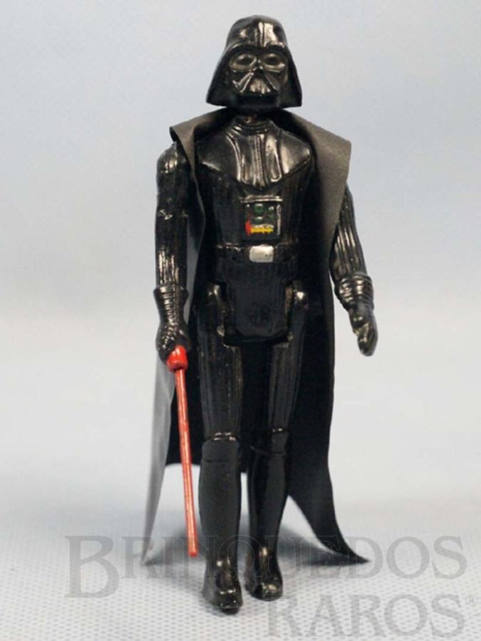 Brinquedo antigo Darth Vader com 10,00 cm de altura Série Aventura na Galáxia Guerra nas Estrelas Star Wars Ano 1983