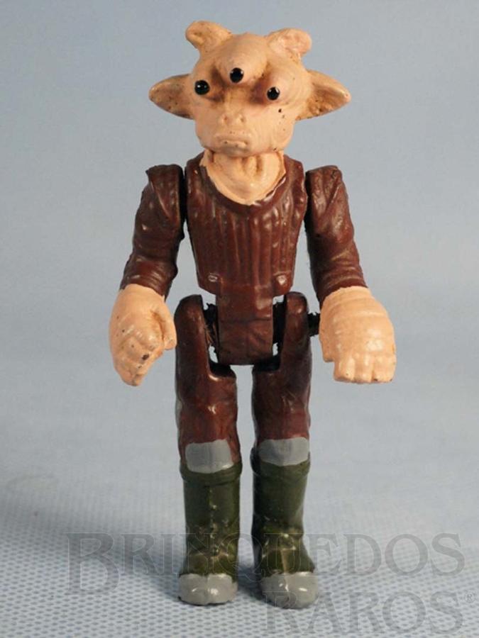 Brinquedo antigo Ree Yees com 10,00 cm de altura Série Novas Aventuras nas Galáxias Guerra nas Estrelas Star Wars Ano 1983