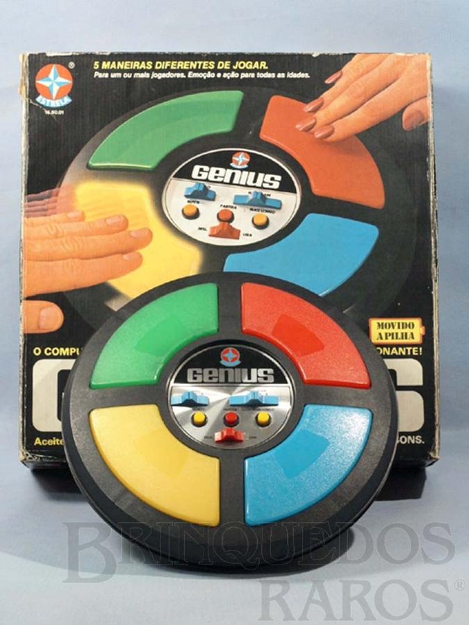 Brinquedo antigo Jogo Genius Ano 1980