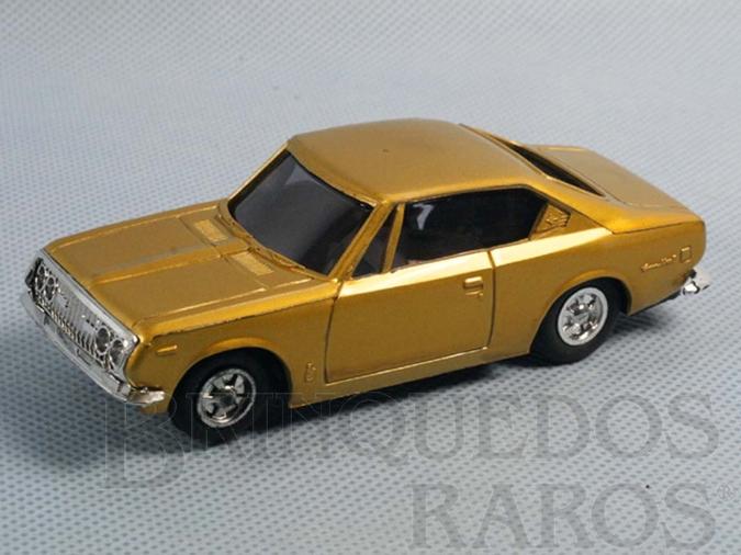 Brinquedo antigo Toyota Corona Mark II com 10,00 cm de comprimento Década de 1970