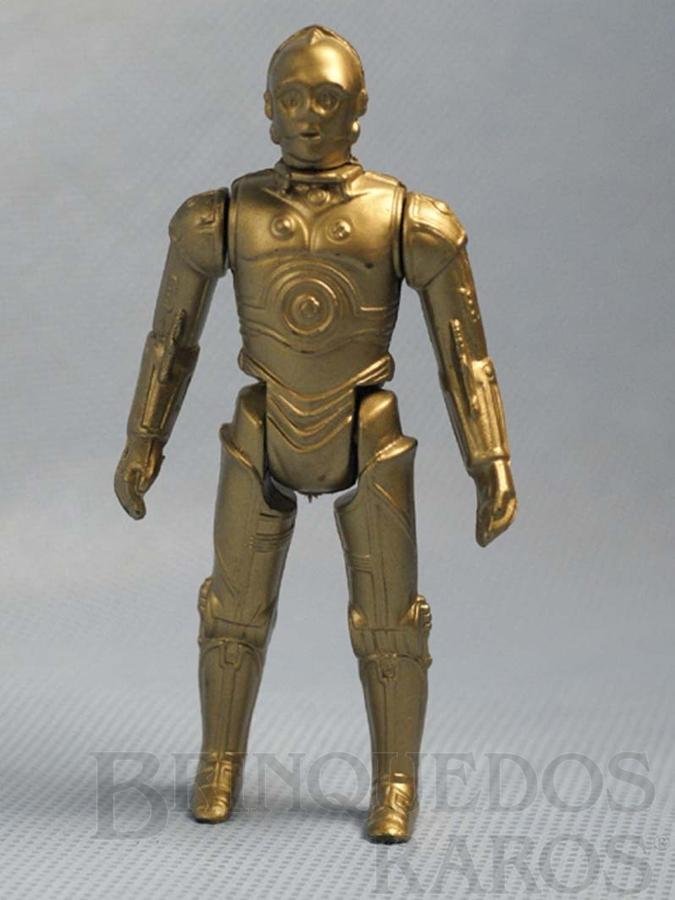Brinquedo antigo Robot C-3PO Star Wars Década de 1980