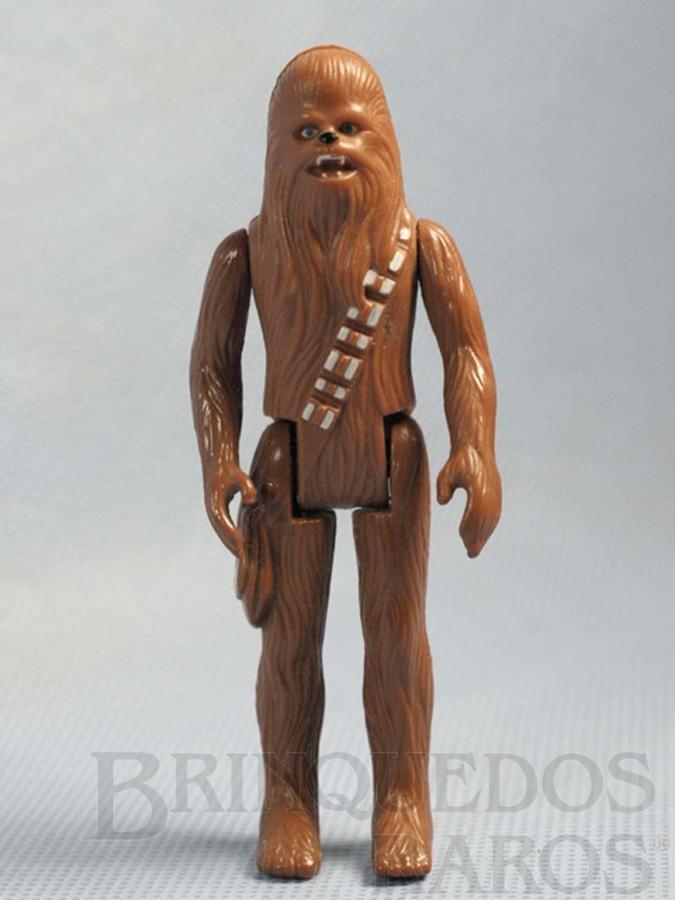 Brinquedo antigo Chewbacca Star Wars Década de 1980