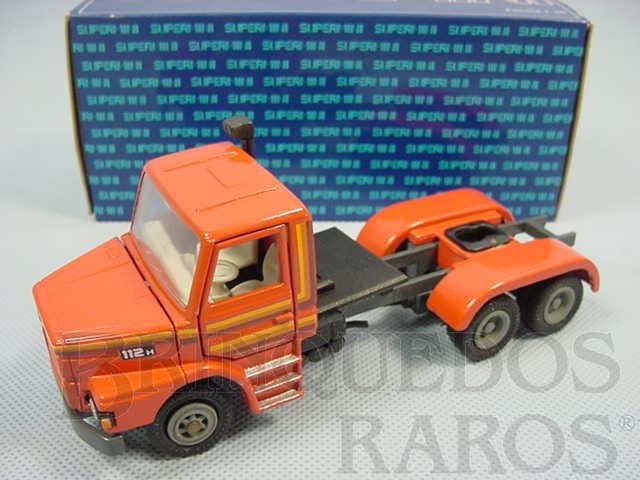 Brinquedo antigo Cavalo Mecânico Scania Vabis T112 Truck