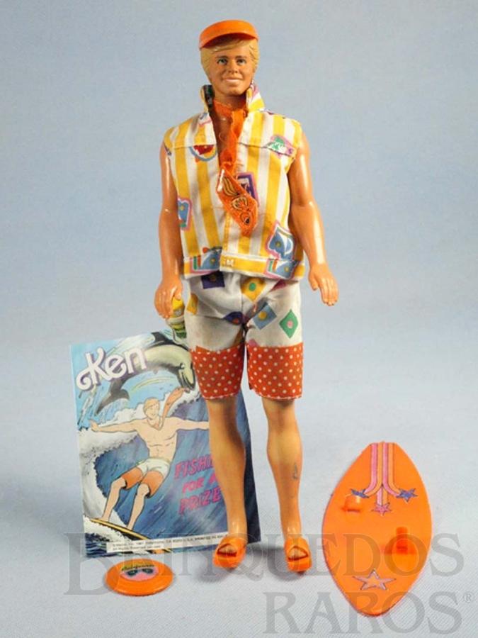 Brinquedo antigo Boneco Ken namorado da Barbie California Dream Serie Década de 1980
