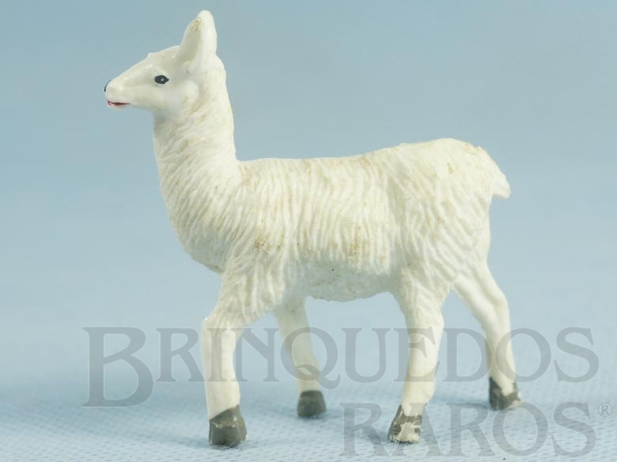 Brinquedo antigo Lhama Série Zoológico Década de 1960