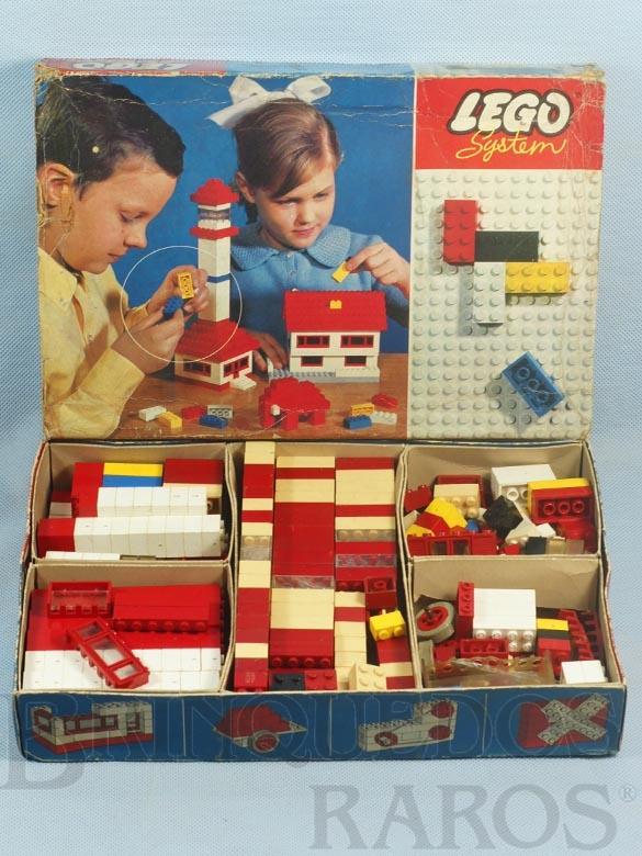 Brinquedo antigo Lego Systen Caixa 030 Completo perfeito estado Ano 1965