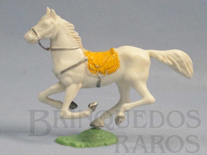 Brinquedo antigo Cavalo de Cowboy branco Casablanca numerado 156